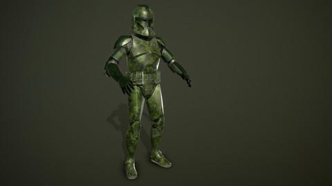 Clone trooper Phase 1 jungle