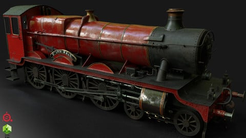 GWR 4900 Class 5972 Olton Hall (Hogwarts Express) Clean Ver.