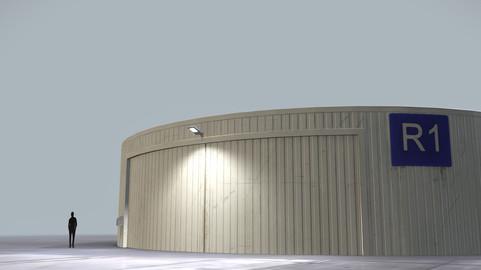 Hangar Cylindrical LOWS