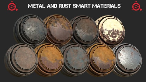 9 METAL AND RUST SMART MATERIALS
