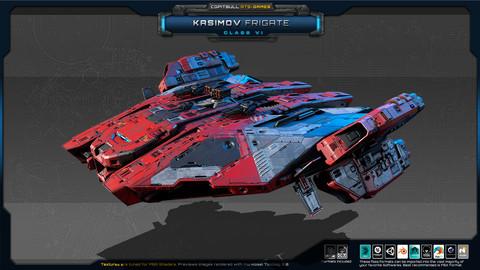 RTS Games - Kasimov Frigate - Class VI