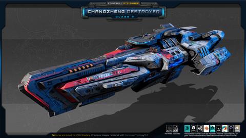 RTS Games - Changzheng Destroyer - Class V