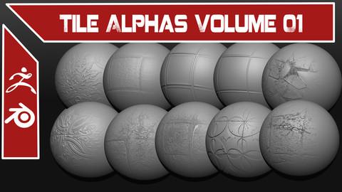 Tile Alphas Volume 01