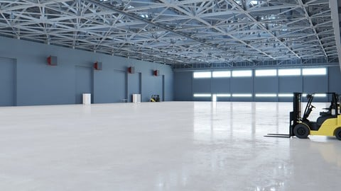 Airplane Hangar Interior 6