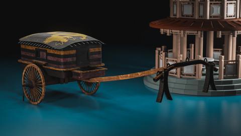 Chinese Qin War Chariot