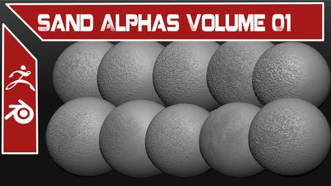 Sand Alphas Volume 01