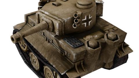 Mini Tiger Tank