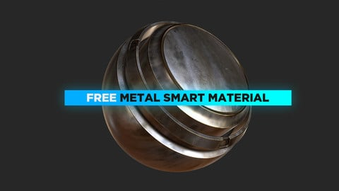 Free Metal Smart Material for Substance Painter