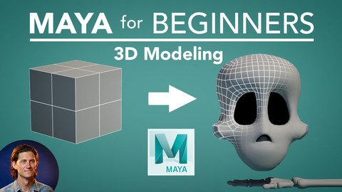 Maya for Beginners: 3D Modeling