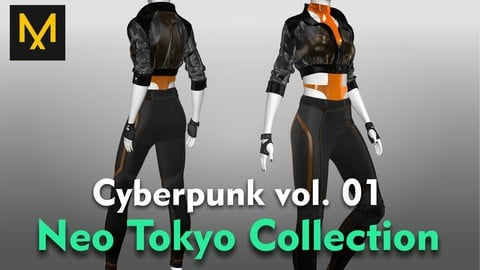 Cyberpunk Outfit vol.01 - Neo Tokyo Collection