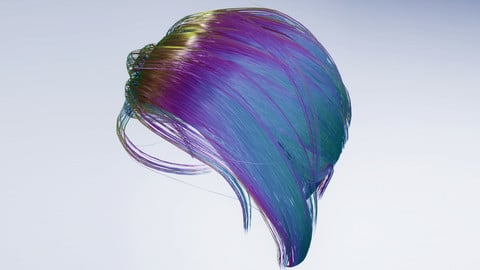 Hair Shader UE4 4.19-4.25 + Hair Strand Designer 1.53 + Unity Hair Shaders + HDRP