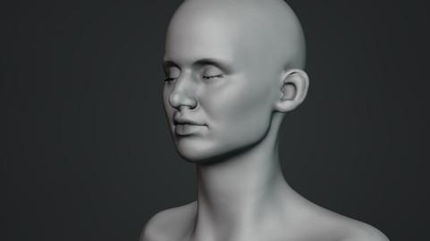 Female Bust Sculpt