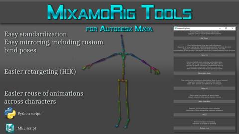 Mixamo Rig Tools for Maya