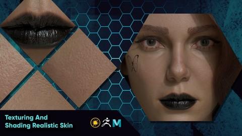 Texturing And Shading Realistic Skin In Maya , Mari And Zbrush