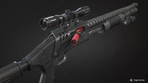 Mossberg 590 Tactical - Modular