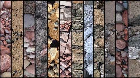 Textures: Groups of Rocks