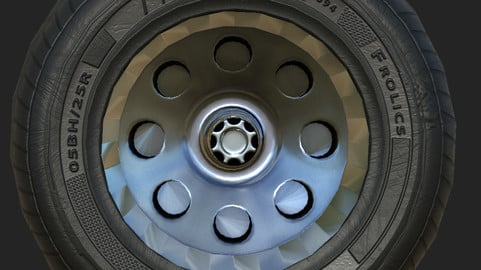 Tire texturing banking