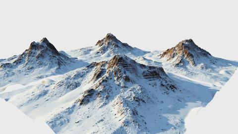 Snow mountain Pack - World Machine - Type2