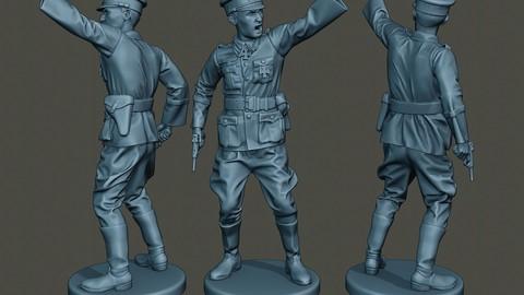 German Officer ww2 warning G5