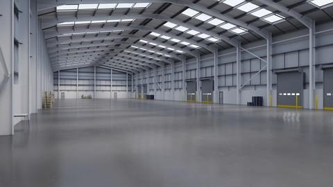 Industrial Warehouse Interior 11