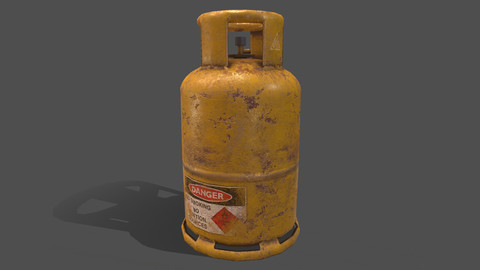 PBR Cooking Gas Cylinder - Yellow