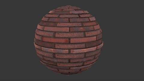 SEAMLESS RED BRICK WALL TEXTURE 1