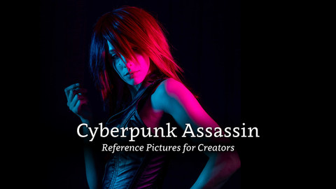 Cyberpunk Assassin - Reference Pictures for Creators