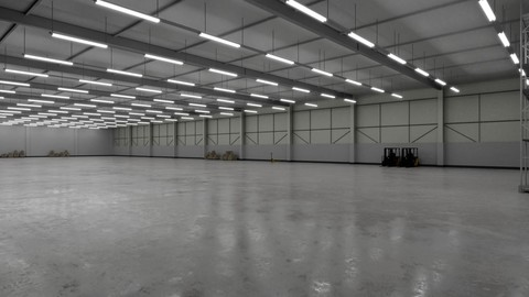 Industrial Building Interior 3b