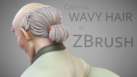 Creating Wavy Hair in ZBrush