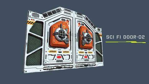Sci Fi Door - 02