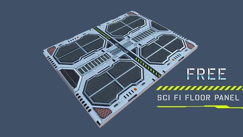 Sci Fi Floor Panel ( Free )