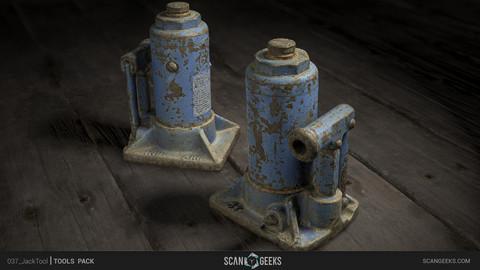 Jack Tool - Photogrammetry Asset 3D PhotoScan