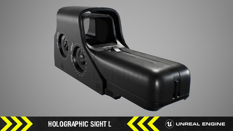 Holographic Sight L - FPS Weapon Attachment [ Unreal Engine ]