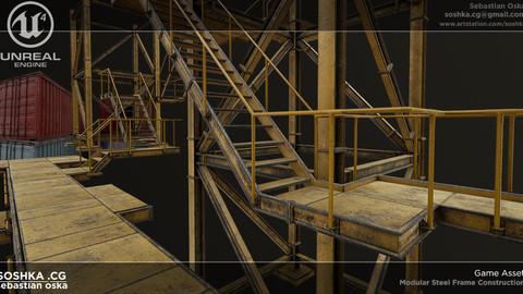 UE4 Modular Steel Constructions
