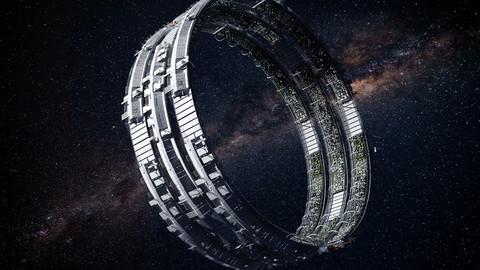Futuristic Space Colony C
