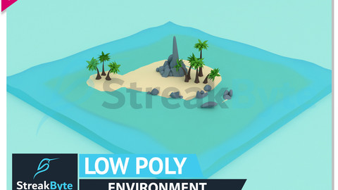 Low Poly Sea Environment