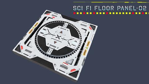 Sci Fi Floor Panel - 02
