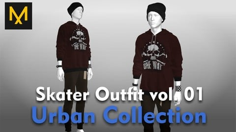 Skater Outfit vol.01 - Urban Collection