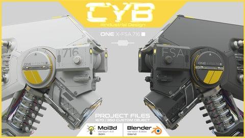 CyB  /  Industrial Design  /  Moi3d