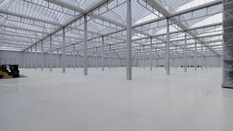 Industrial Warehouse Interior 4