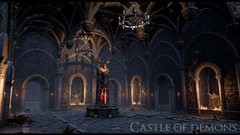 Demon Castle Labyrinth UE4 project