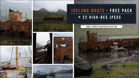 ICELAND / BOATS - FREE PACK