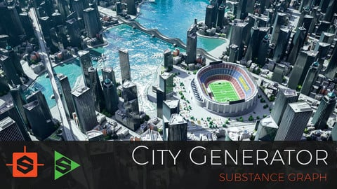 City Generator - Substance Designer