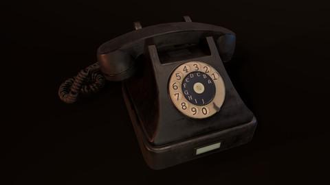 Old Phone - PBR Model