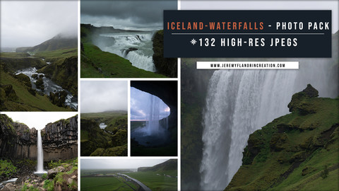 ICELAND / WATERFALLS - PHOTOPACK