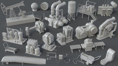 Factory Units 7 - 20 pieces