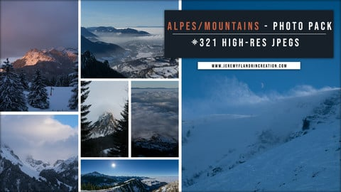 ALPES MOUTAINS _ PHOTOPACK