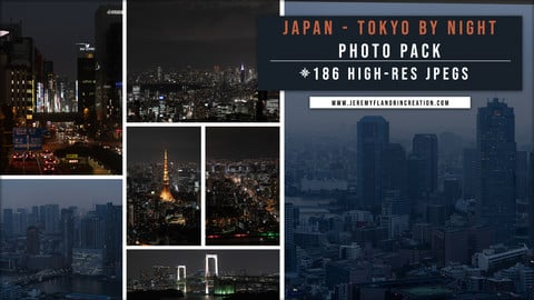 JAPAN / TOKYO BY NIGHT - PHOTOPACK