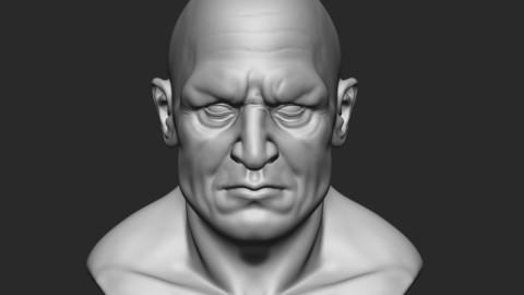 Head Model man