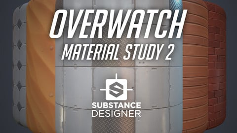 Substance Designer - Overwatch Material Studies 2